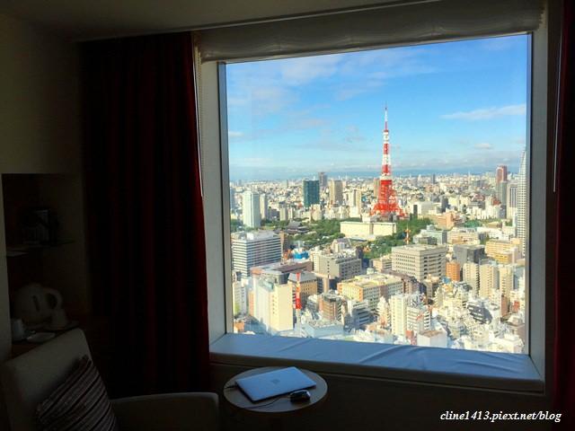 ▌東京飯店推薦▌無敵東京鐵塔美景♥東京花園酒店 Park Hotel Tokyo♥充滿設計感的酒店