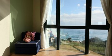 ▌花蓮民宿▌坐擁太平洋海景 ♥看見海民宿 Ocean View ♥