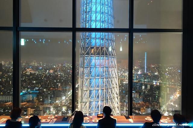 ▌2015東京自由行▌浪漫指數破表 ♥天空LOUNGE TOP of TREE♥離晴空塔最近的高樓景觀餐廳(10/28更新)