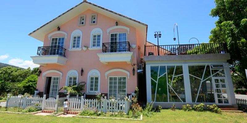 ▌宜蘭民宿▌女孩們尖叫的粉紅城堡♥貝兒花園民宿♥