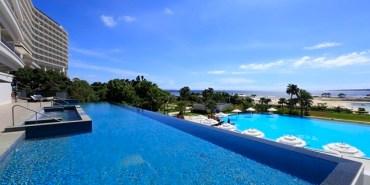 ▌沖繩海景飯店推薦▌每個房間都有無敵海景♥Orion本部度假SPA飯店Hotel Orion Motobu Resort & Spa♥步行到美麗海水族館七分鐘