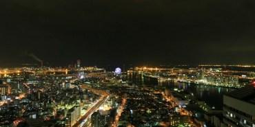 ▌大阪住宿推薦▌♥大阪海灣巨塔酒店 Hotel Osaka Bay Tower♥大阪夜景最美酒店、CP值高、交通方便(往梅田和難波均只需10分鐘)