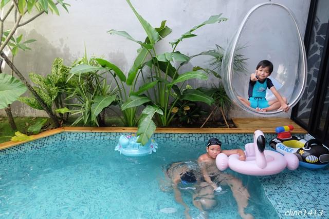 ▌墾丁民宿推薦▌有浪漫泳池的villa民宿♥隱。半島♥新房型流。泳池Villa雙人房(現做下午茶、早餐)