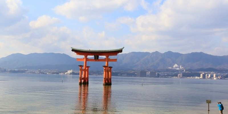 ▌日本廣島自由行▌日本三景。宮島♥海上大鳥居&嚴島神社♥ 此生必訪的夢幻景點