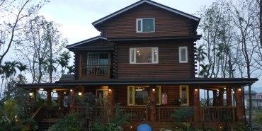 【宜蘭民宿】一間有味道的民宿~充滿原木香氣的北歐童話小木屋♥北方札特♥