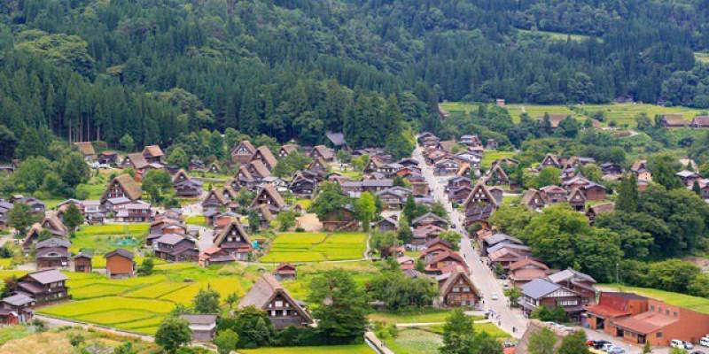 ▌白川鄉合掌村▌此生必訪一次的童話村落♥夏日合掌村♥值得一訪的世界文化遺產