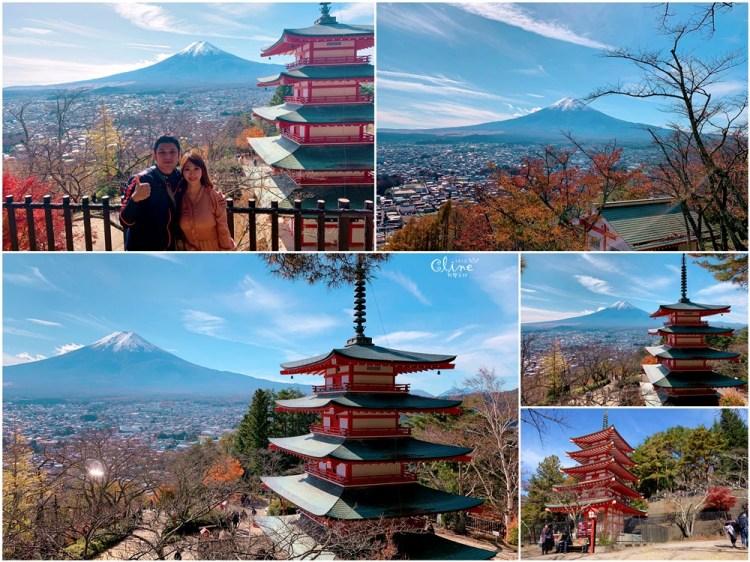 ▌河口湖景點▌2018新倉富士淺間神社。春櫻秋楓必來的景點之一