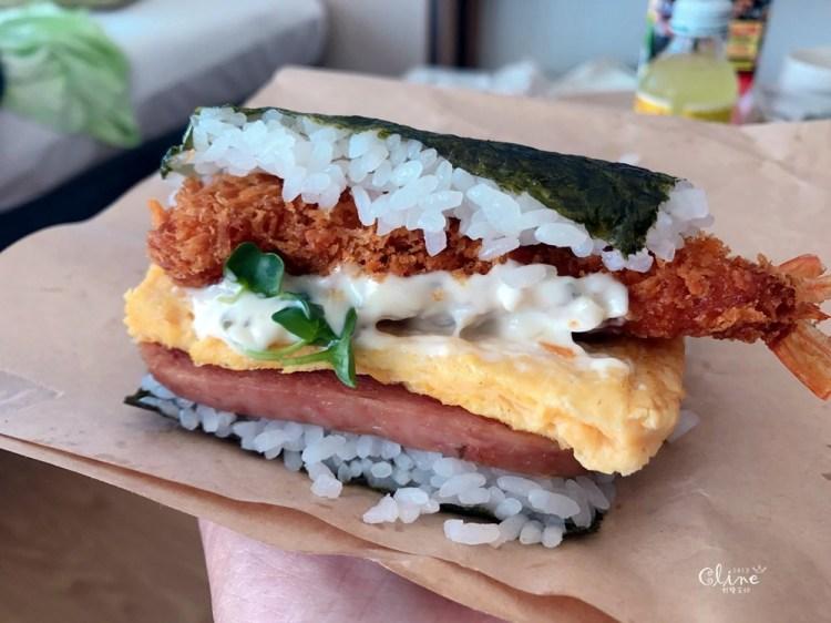 ▌沖繩美食▌沖繩超好吃豬肉蛋人氣飯糰,牧志市場本店