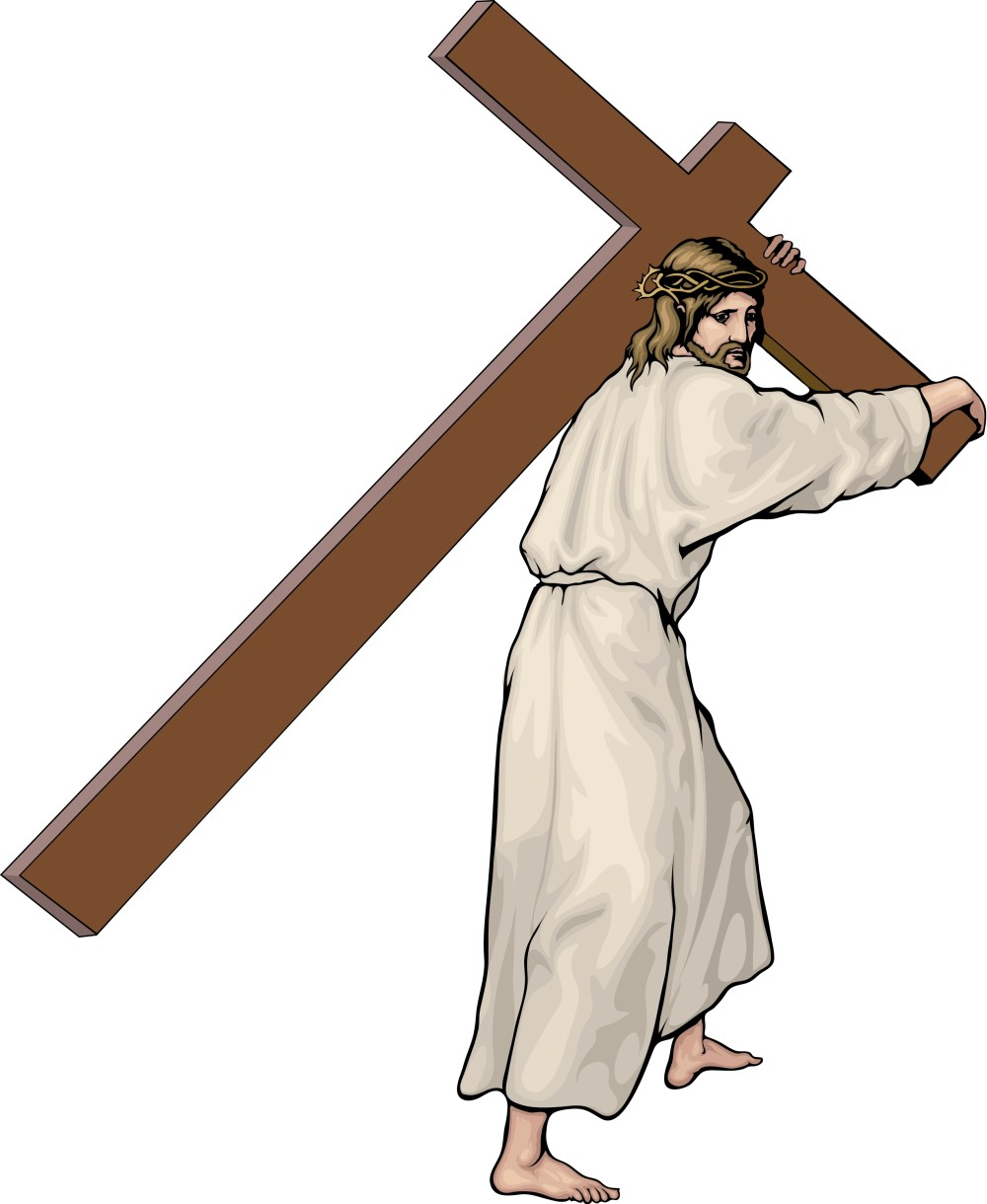 medium resolution of stations of the cross clipart