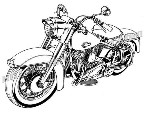Harley Davidson Motorcycle Clipart & Look At Clip Art