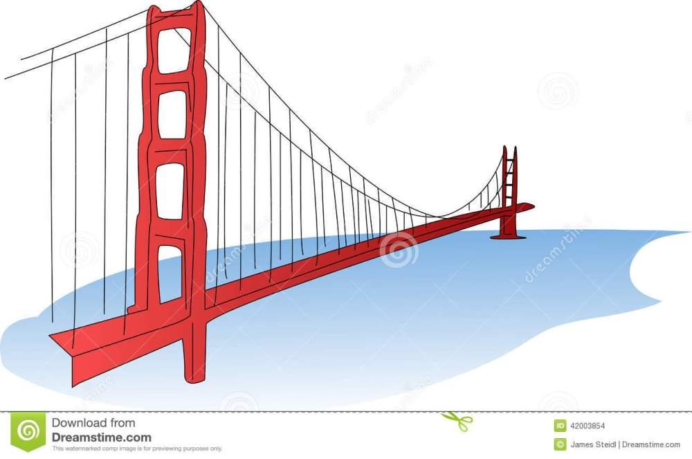 medium resolution of an illustration of the golden gate bridge a suspension bridge