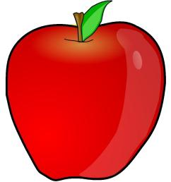 apple clipart [ 883 x 1000 Pixel ]
