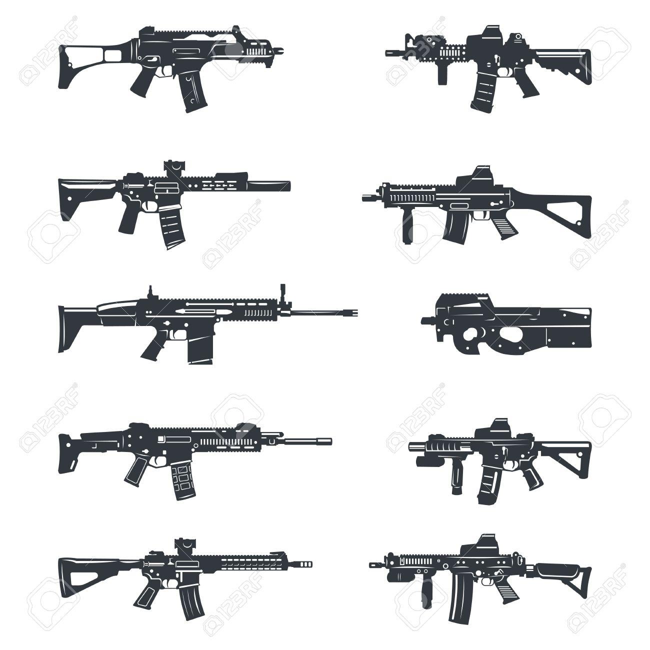 hight resolution of gun clipart assault rifle assault riffle clipart