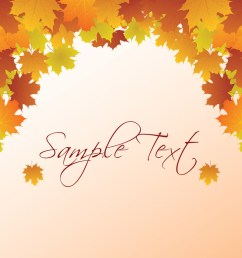 autumn vector background fall background clipart [ 1024 x 779 Pixel ]