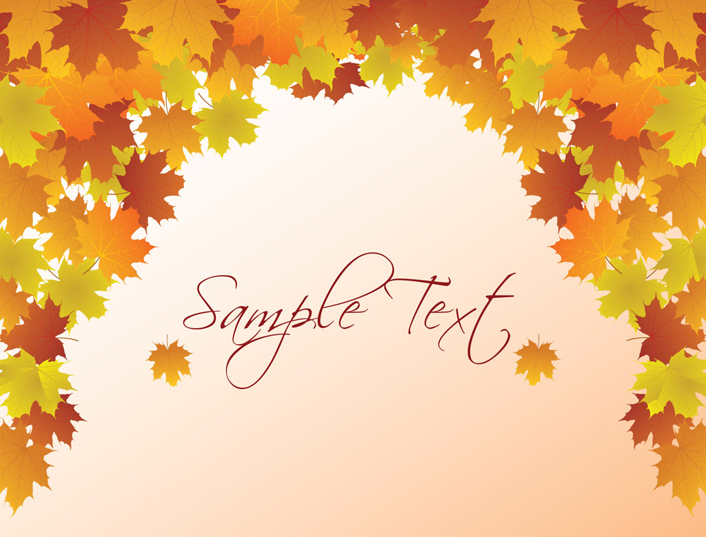hight resolution of autumn vector background fall background clipart