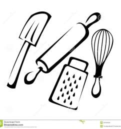 baking utensils stock photos image 32454563 [ 1300 x 1259 Pixel ]