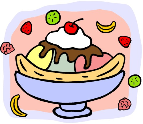 small resolution of banana split clip art clipartall