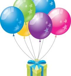 clipart birthday balloons  [ 810 x 1024 Pixel ]