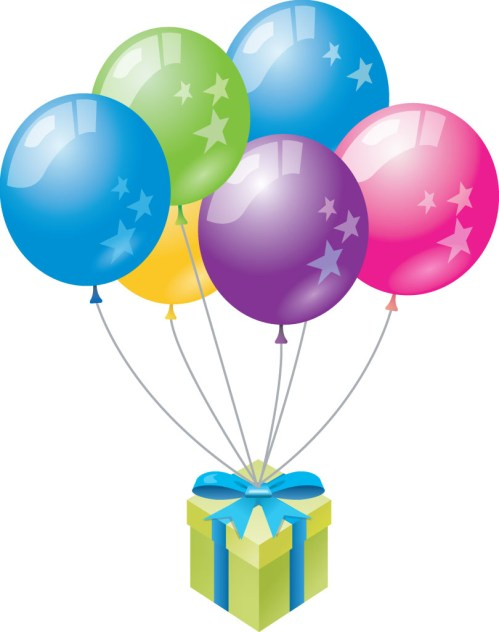 small resolution of clipart birthday balloons