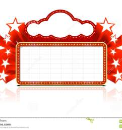 blank movie marquee neon sign movie marquee clipart [ 1300 x 941 Pixel ]