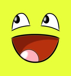 blank yellow big smile clipart [ 1024 x 768 Pixel ]