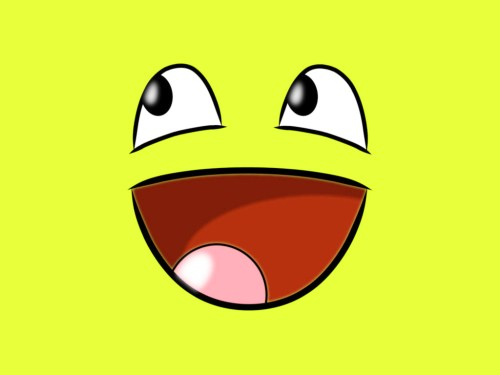 small resolution of blank yellow big smile clipart