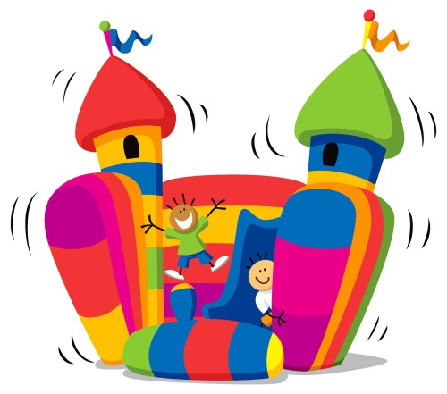 small resolution of bouncy castle clipart bounce house clip art