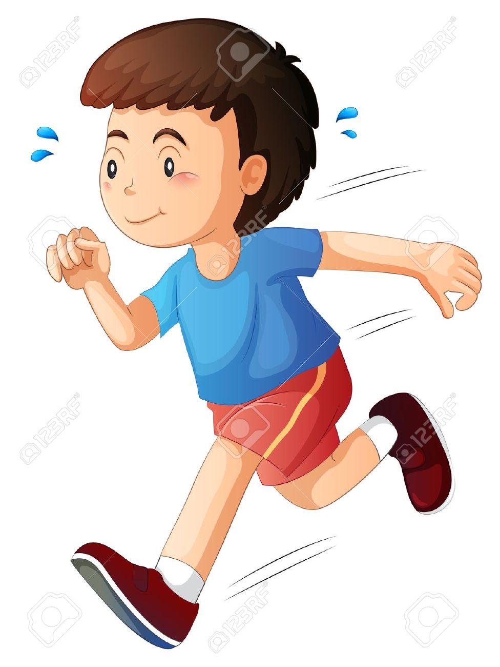 medium resolution of boy running clipart