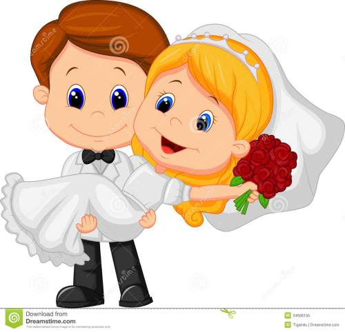 small resolution of bride and groom clipart