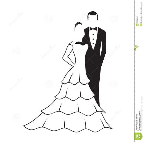 small resolution of bride and groom logo bride and groom silhouette clip art