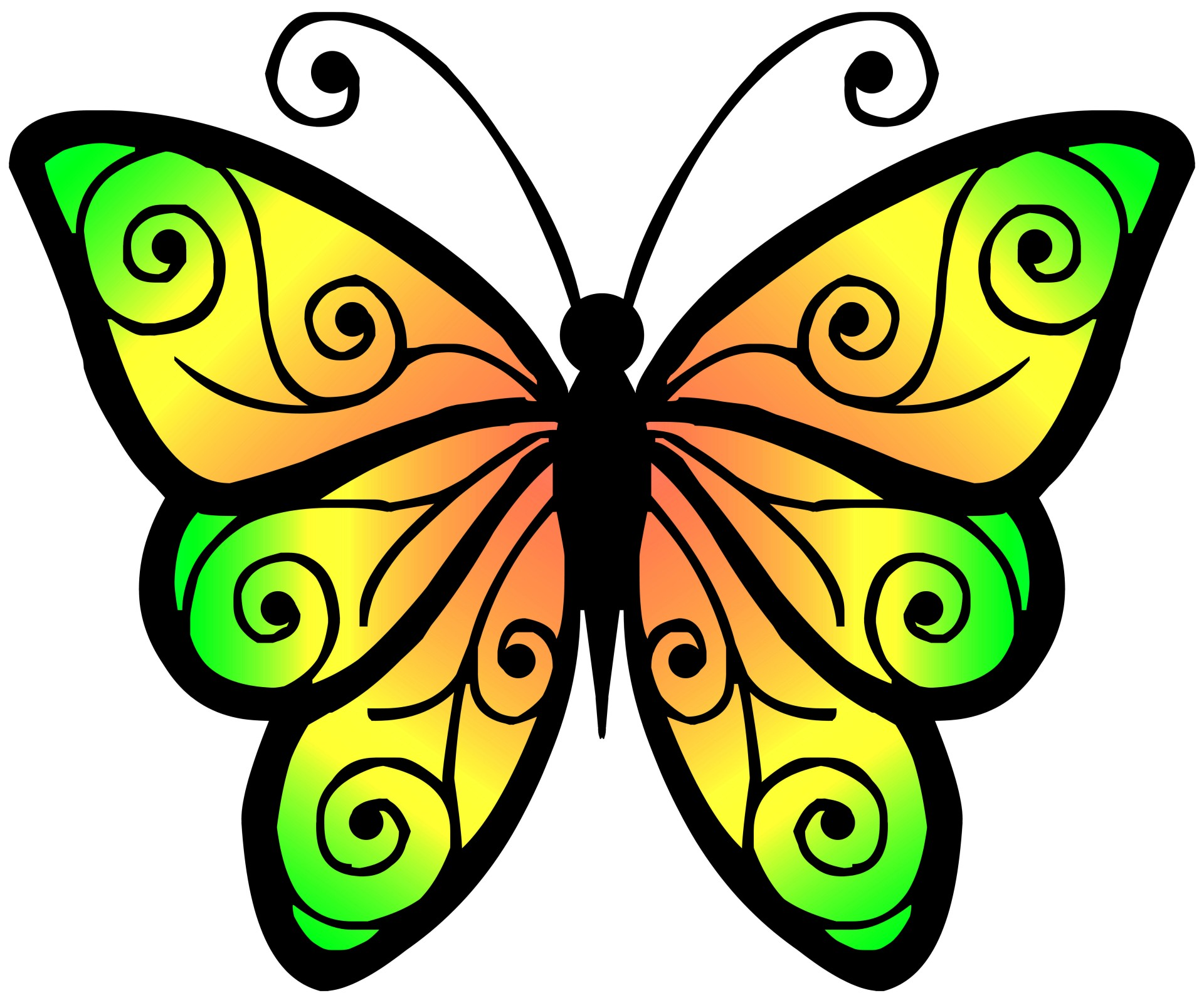hight resolution of clipart butterfly 4 butterfly clipart