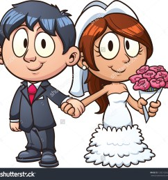 cartoon bride and groom vect bride and groom clipart [ 1500 x 1487 Pixel ]