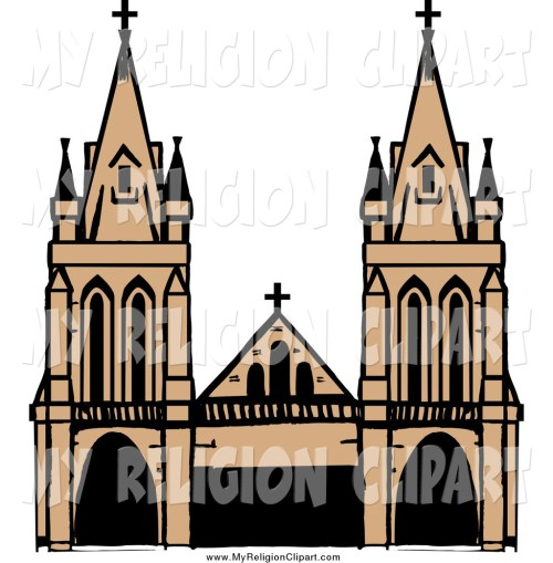 small resolution of religion clip art of a cathed cathedral clipart