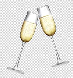 two glass of champagne isolat champagne clipart [ 1300 x 1300 Pixel ]