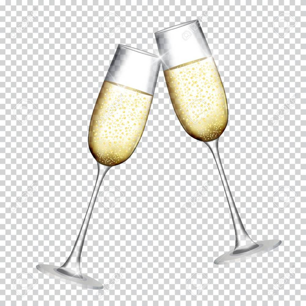 medium resolution of two glass of champagne isolat champagne clipart