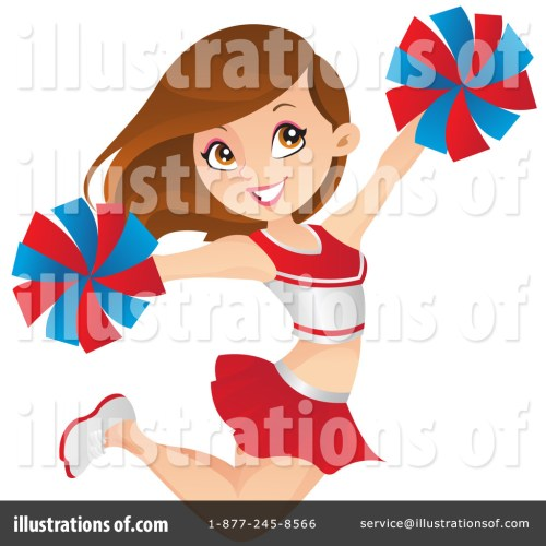 small resolution of cheerleader clipart 1222438 cartoon cheerleader clipart