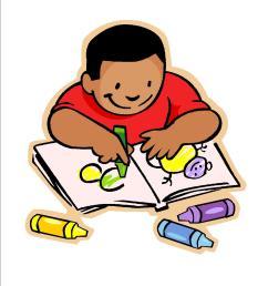 children writing clipart child writing clipart [ 1275 x 1650 Pixel ]