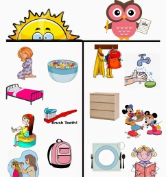 chores for kids clipart  [ 1120 x 1600 Pixel ]
