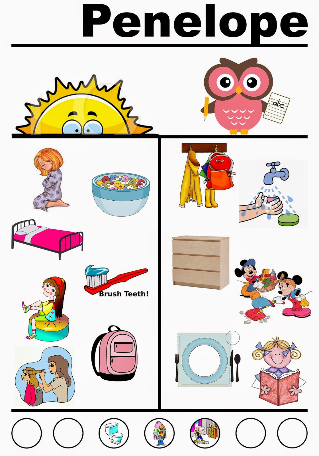 hight resolution of chores for kids clipart