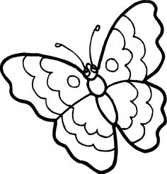 91 butterfly clipart black