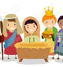 clip art nativity scene clipart nativity scene clipart free clipartall illustration [ 1300 x 761 Pixel ]