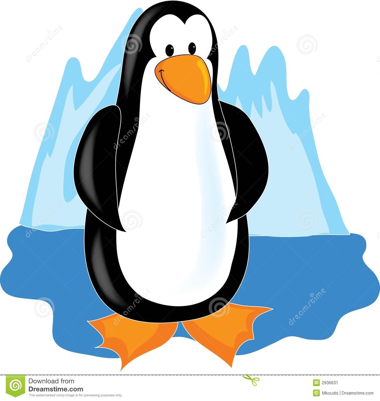 hight resolution of clip art penguins in antarcti antarctica clipart