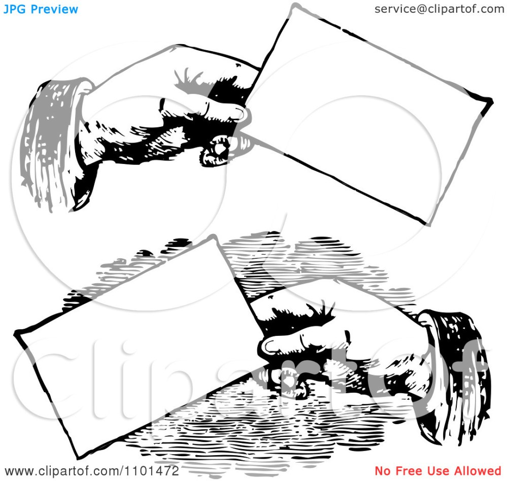 medium resolution of clipart retro black and white clipart for business cards