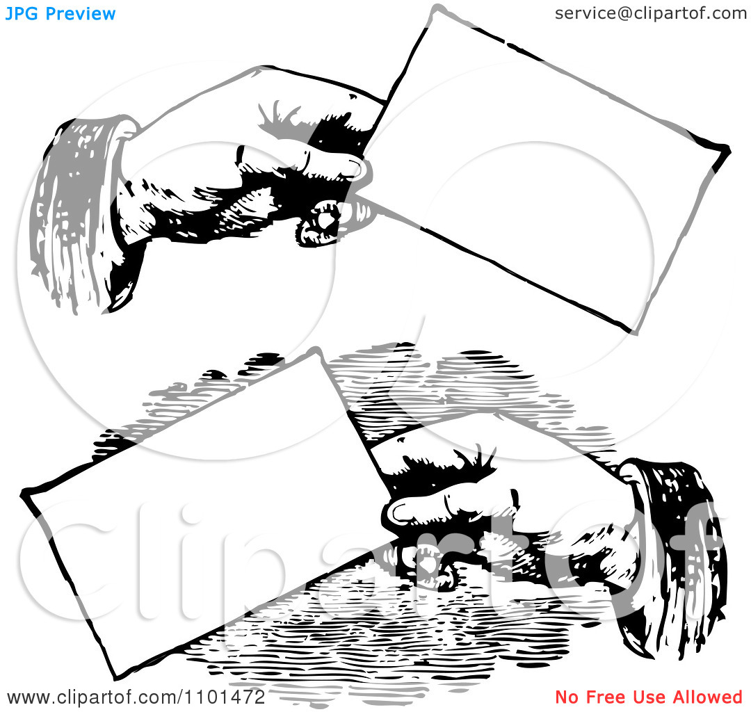 hight resolution of clipart retro black and white clipart for business cards
