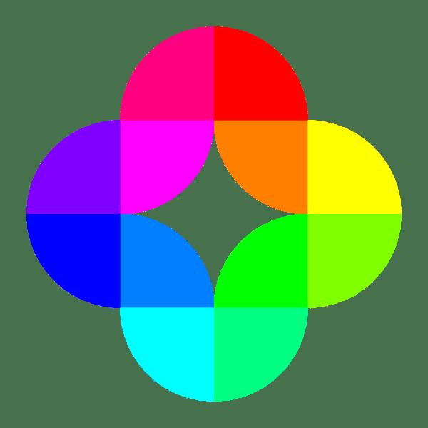 Color Circles Clip Art