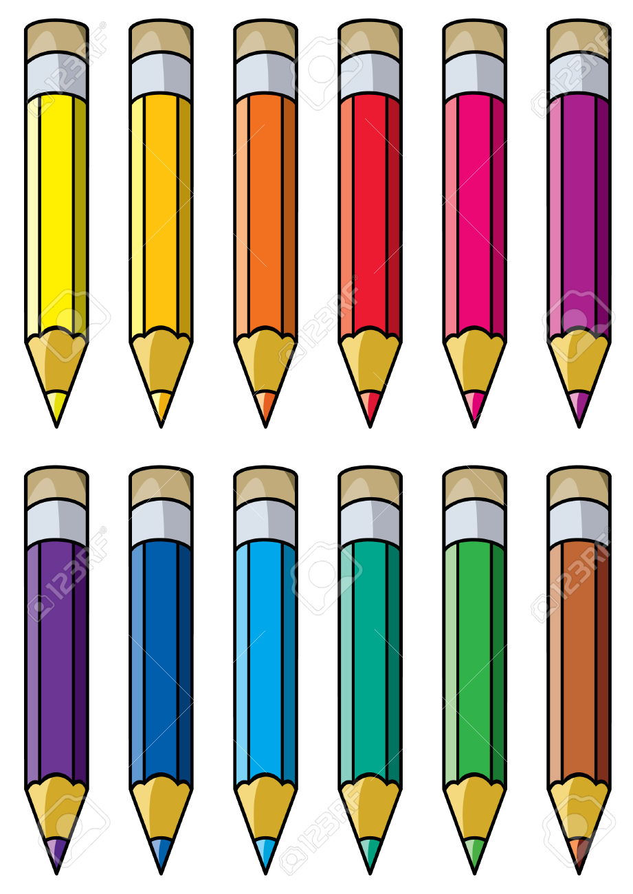 hight resolution of pencils clipart