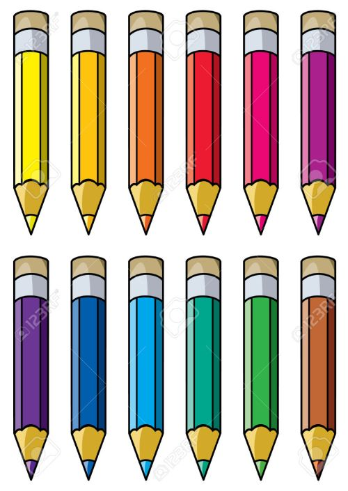 small resolution of pencils clipart