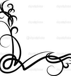 corner scroll vector clipart corner scroll clip art [ 1024 x 960 Pixel ]