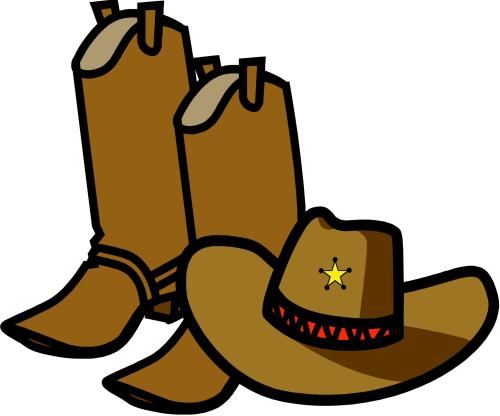 small resolution of cowboy clipart free