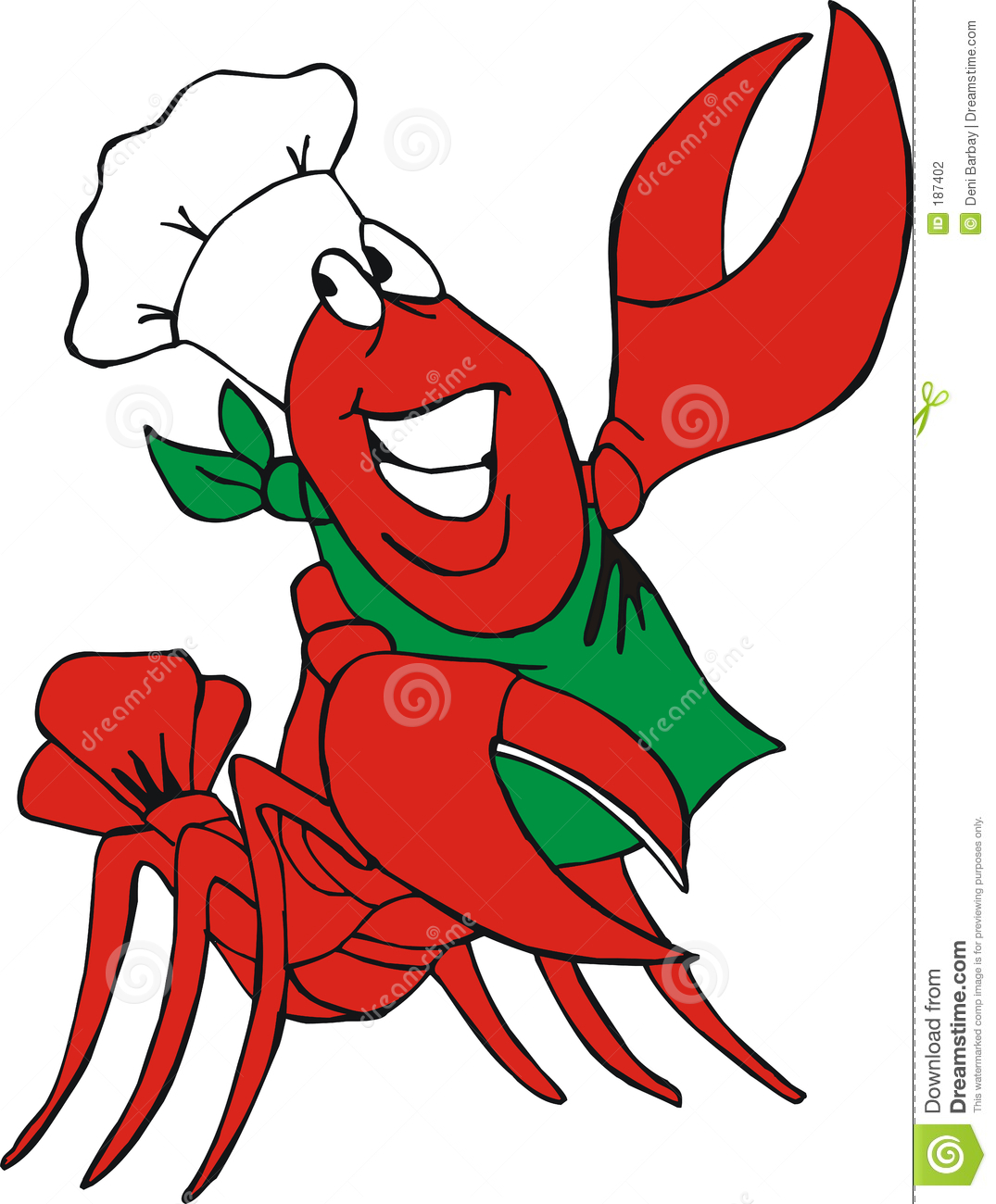 hight resolution of crawfish clip art free